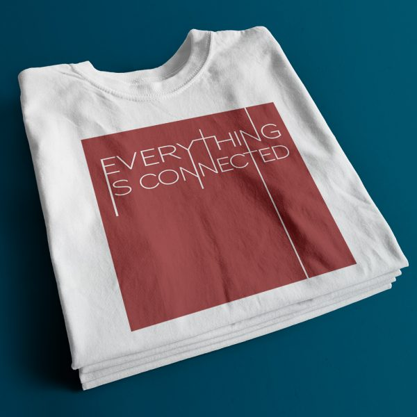 Everything is connected T-shirt Capture Energy Clothing