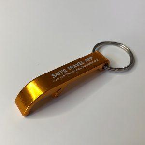 Safer Travel Bottle Opener